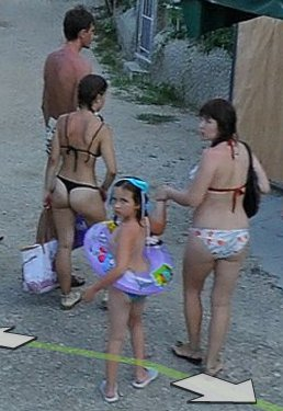 Remarkable, and google street maps bikini for