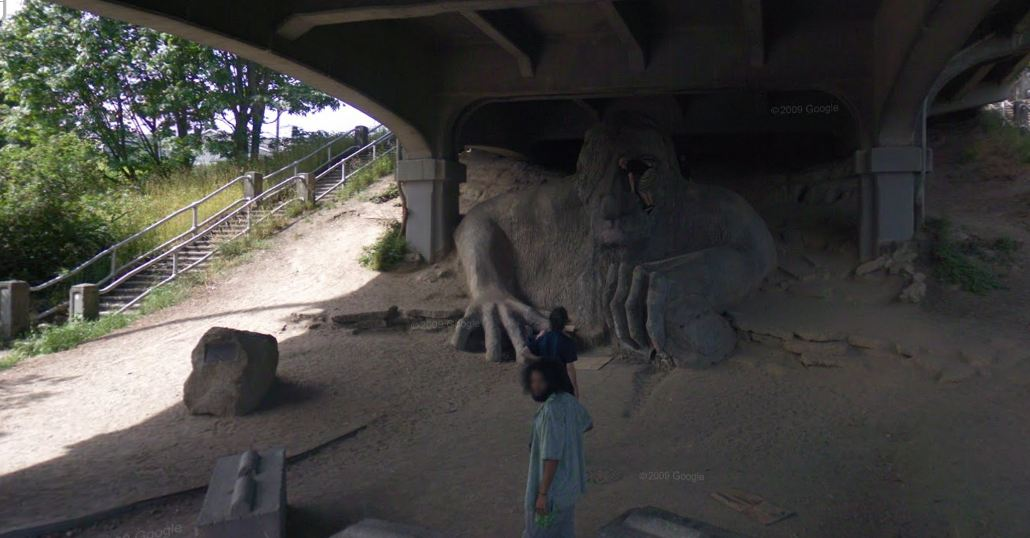 fremont troll google street view world funny street view images  google maps