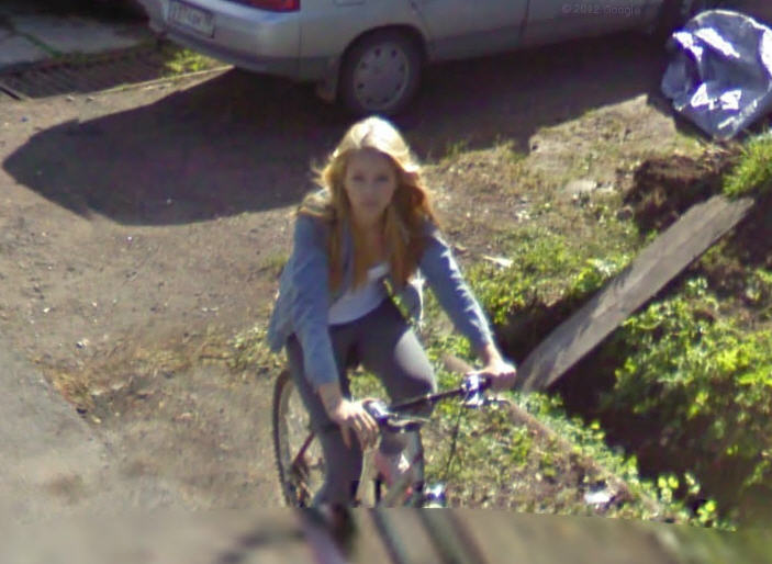 Google Street View Russia images