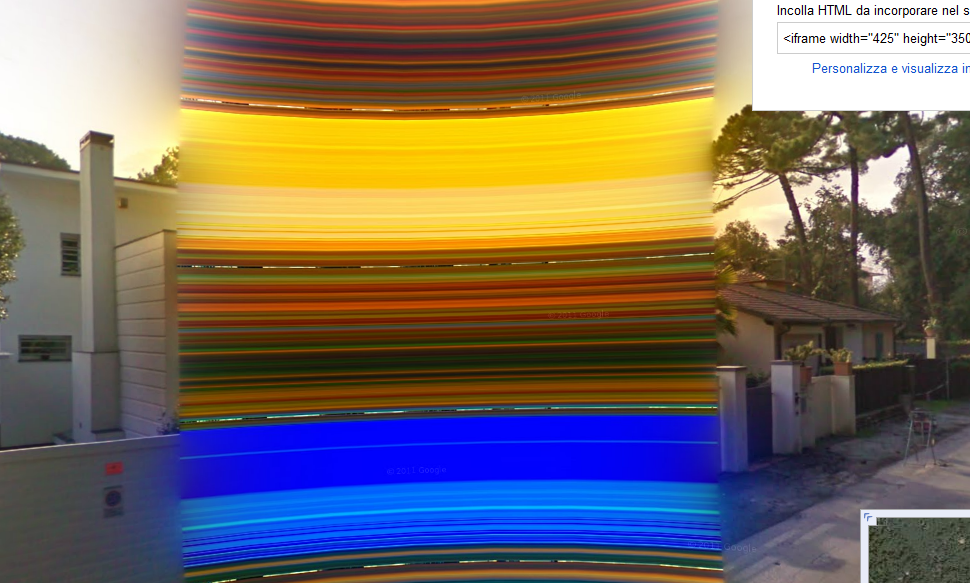 Google Maps Street View Starts Blurring Out Houses Psychedelic Style