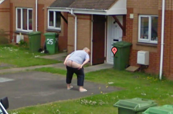 Google Maps Street View Uk Captures Yet Another Full Moon Google