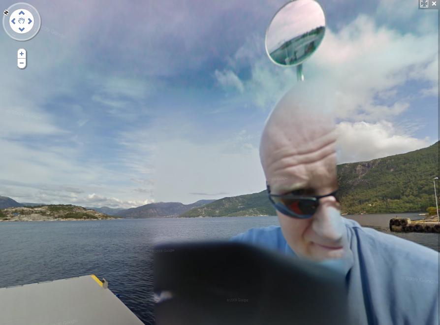 google-street-view-captures-a-norwegian-guy-getting-onto-a-ferry