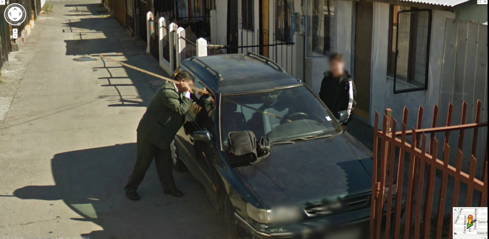 descargar google street view chile