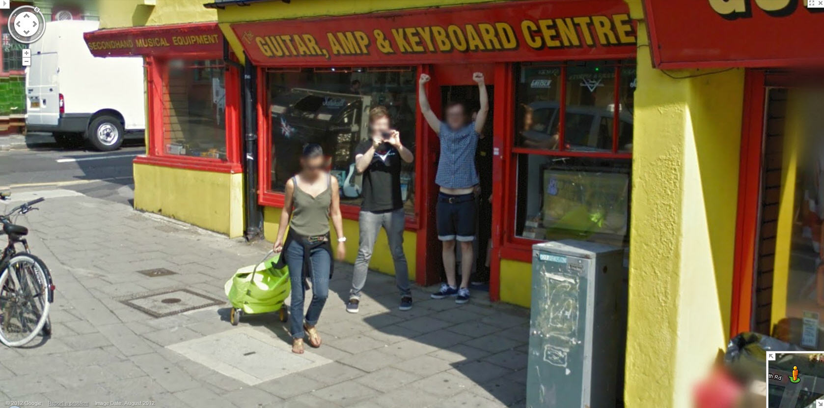 These UK Music Store Owners are happy to see Google Street