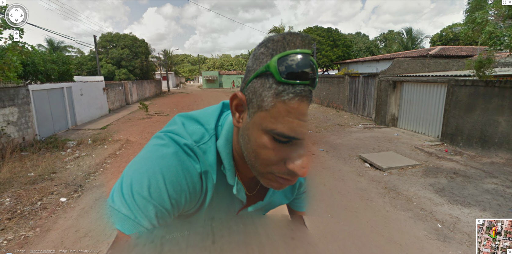 Google Street View Driver Takes a Ride on the Camera in ... on google engineer, google hotels, google airlines, google media, google marketing, google id,