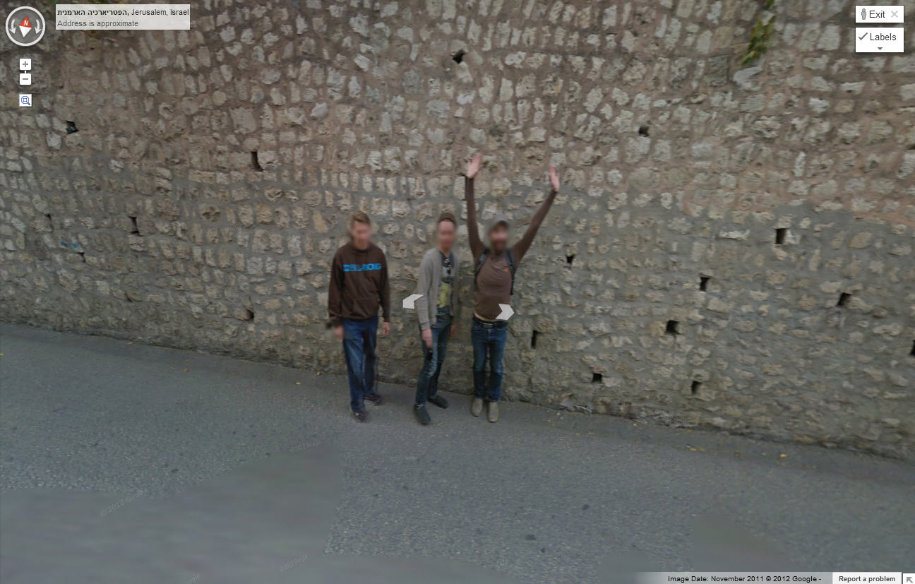 this-dude-is-seriously-happy-about-getting-his-picture-on-google-street-view