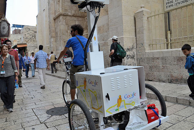 google-street-view-trike-takes-to-the-streets-in-jerusalem