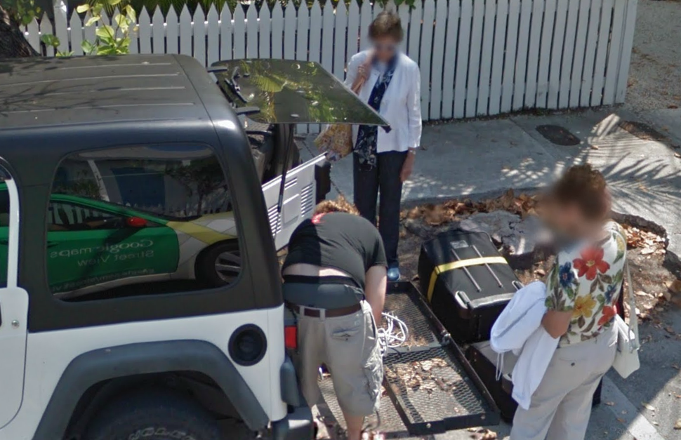 google-street-view-captures-its-reflection-along-with--