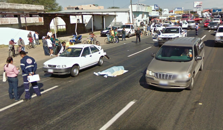 Dead Body In Mexico Google Street View World Funny