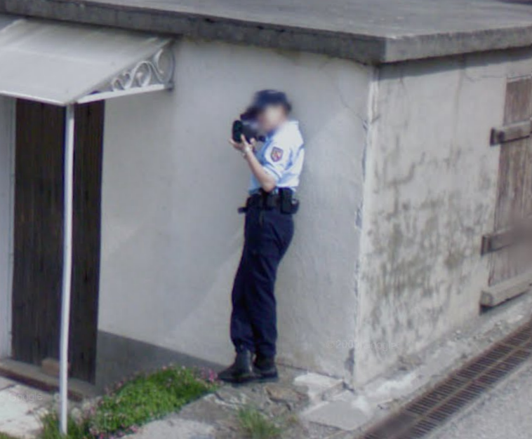 google-maps-street-view-captures-a-french-cop-taking-a-radar-reading---1
