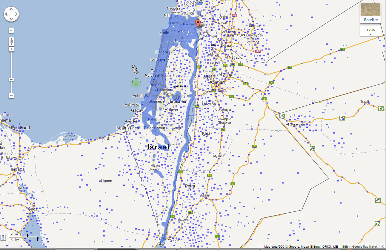 Google Publishes More Street View Coverage for Israel ... on harpercollins israel, youtube israel, driving directions in israel, world map israel, fotos de israel, bible map judah and israel, mapquest israel, map of israel, google earth israel, we love israel, azotus israel, kibbutz israel,