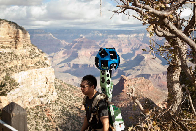 Google Street View Now Covers The Grand Canyon Google Street View World