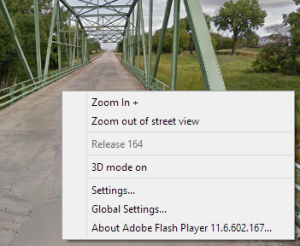 google street view 3d mode