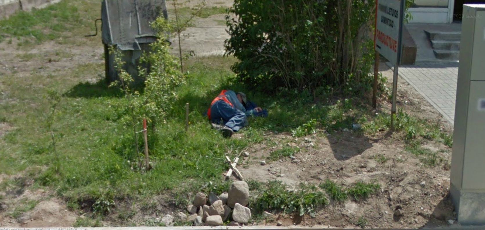Nap time in Lithuania