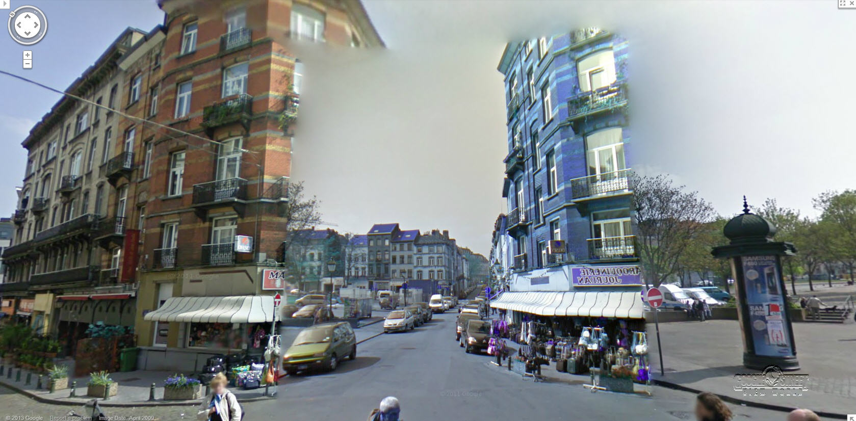 Google Street View Discovers a Portal to Another Place!