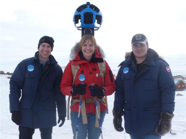 Google Street View Goes Trekking in Canada's North