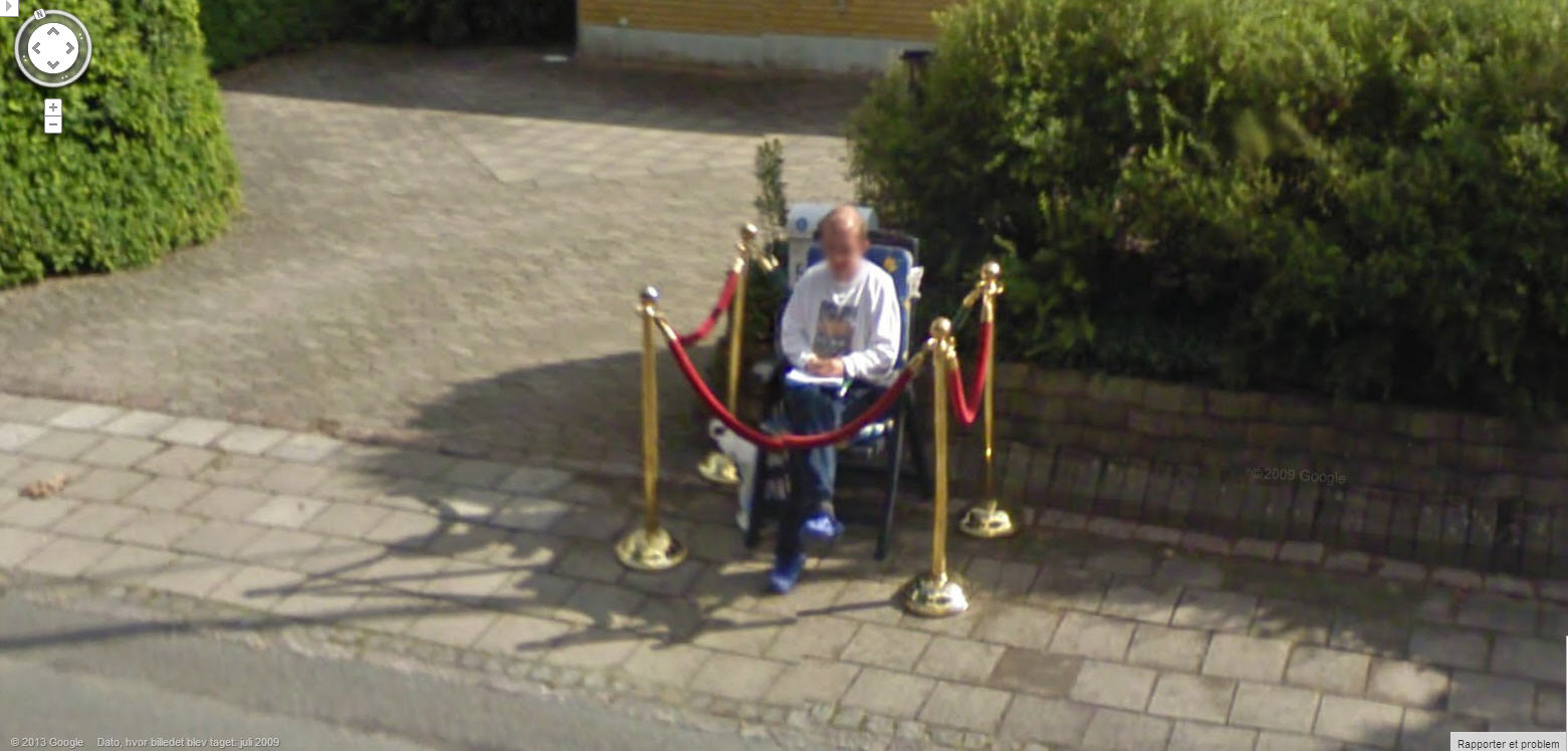 Im The King Of The Castle Google Street View World