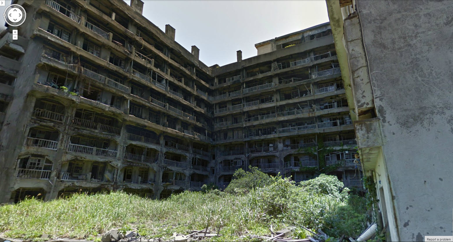 Google Street View adds abandoned Japanese island from the James Bond movie 'Skyfall'