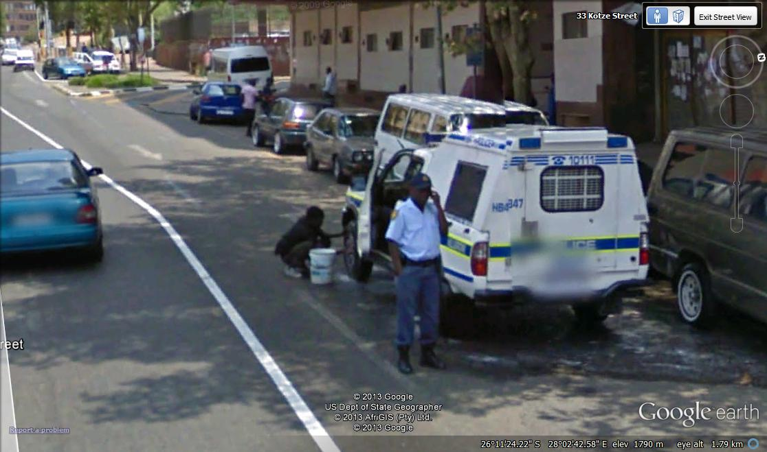 south africa map street view