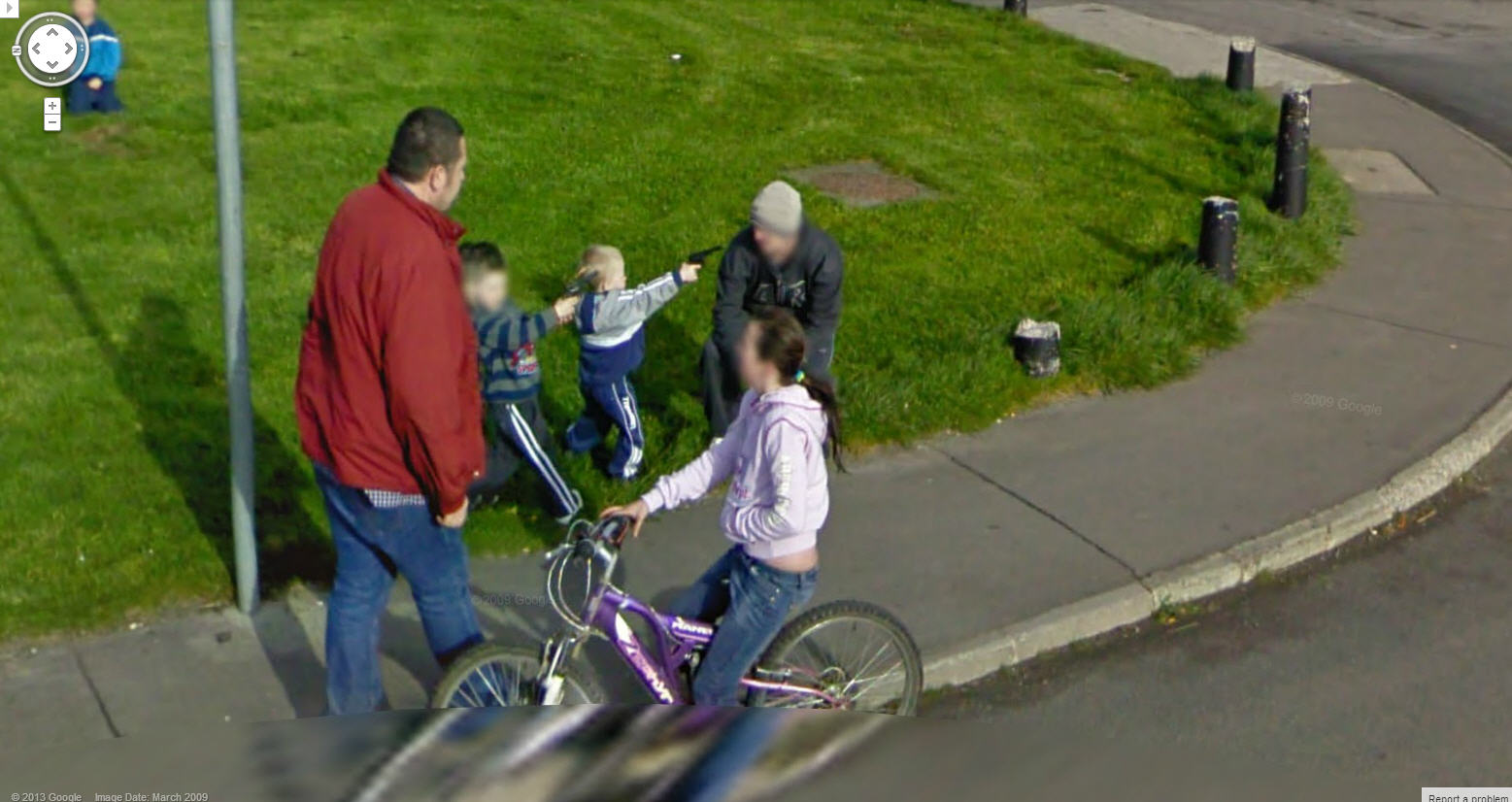 They Train Them Young In Ireland Google Street View