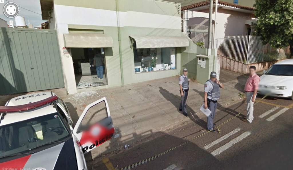 google-street-view-police