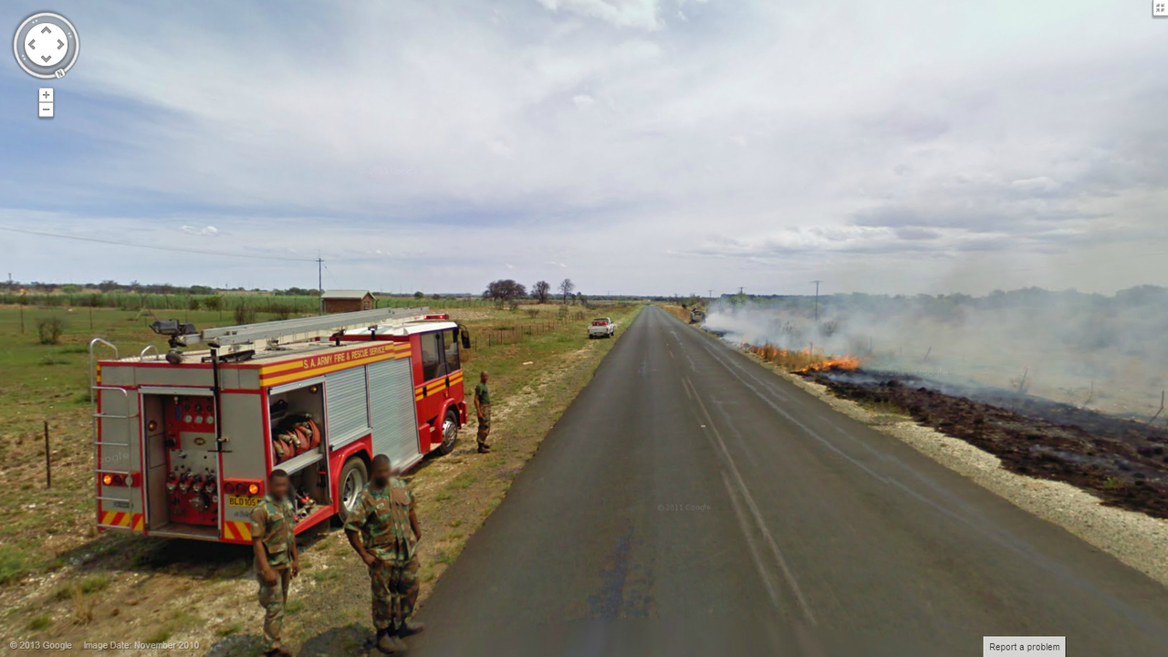 South African Fire Getting Out of Hand?