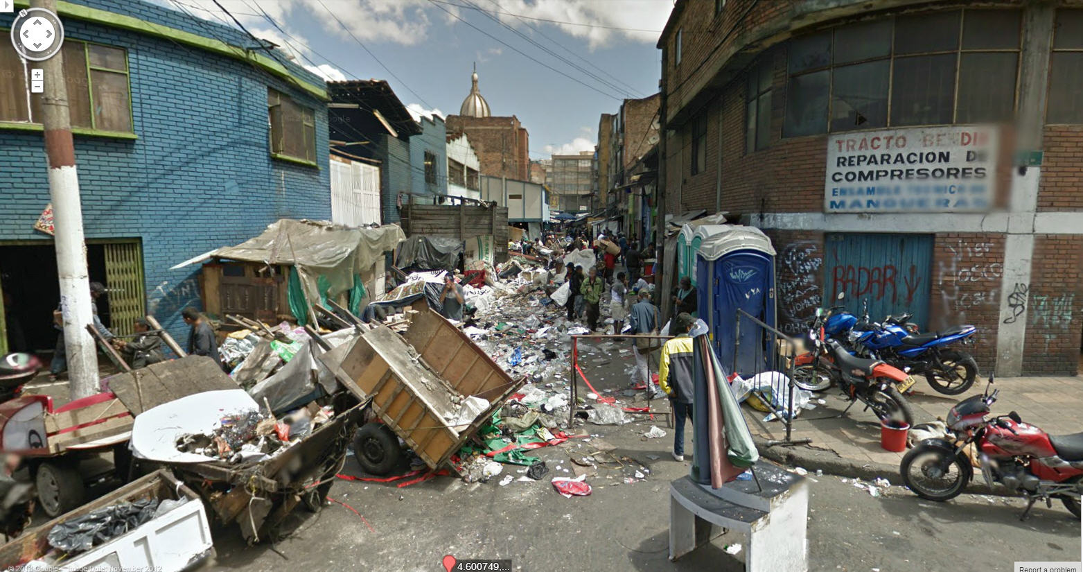 Not the Nicest Google Street View Colombia Image