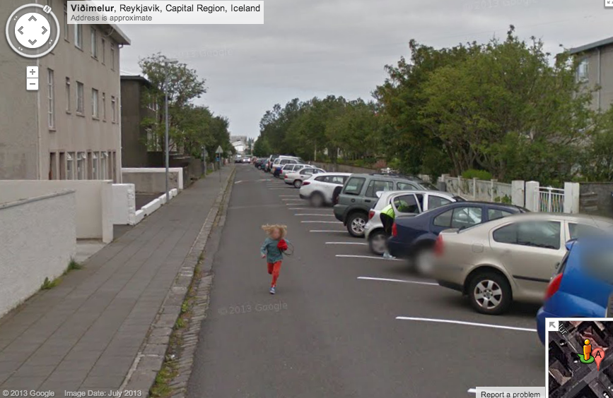 Come back Google Street view