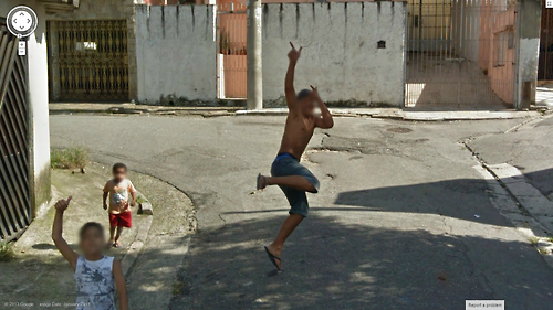Another Street View Jumper