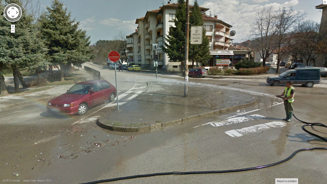 Get Your Free Car Wash Google Street View World Funny Street