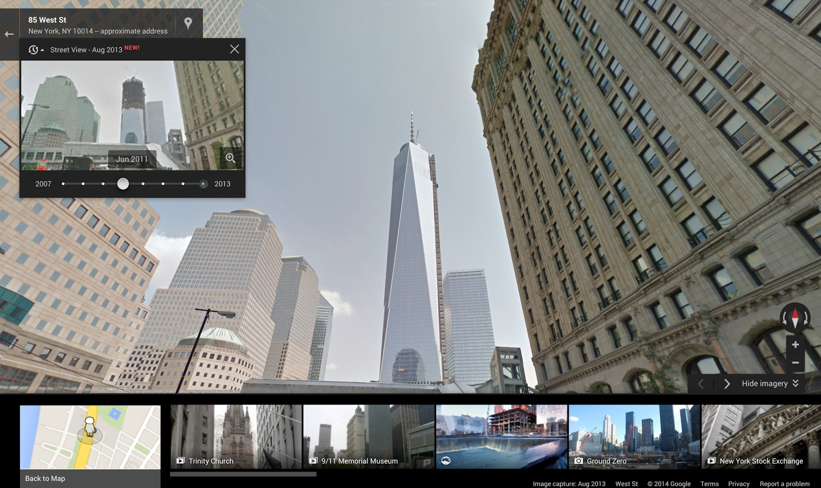 Time Travel – Now Possible with Google Street View!