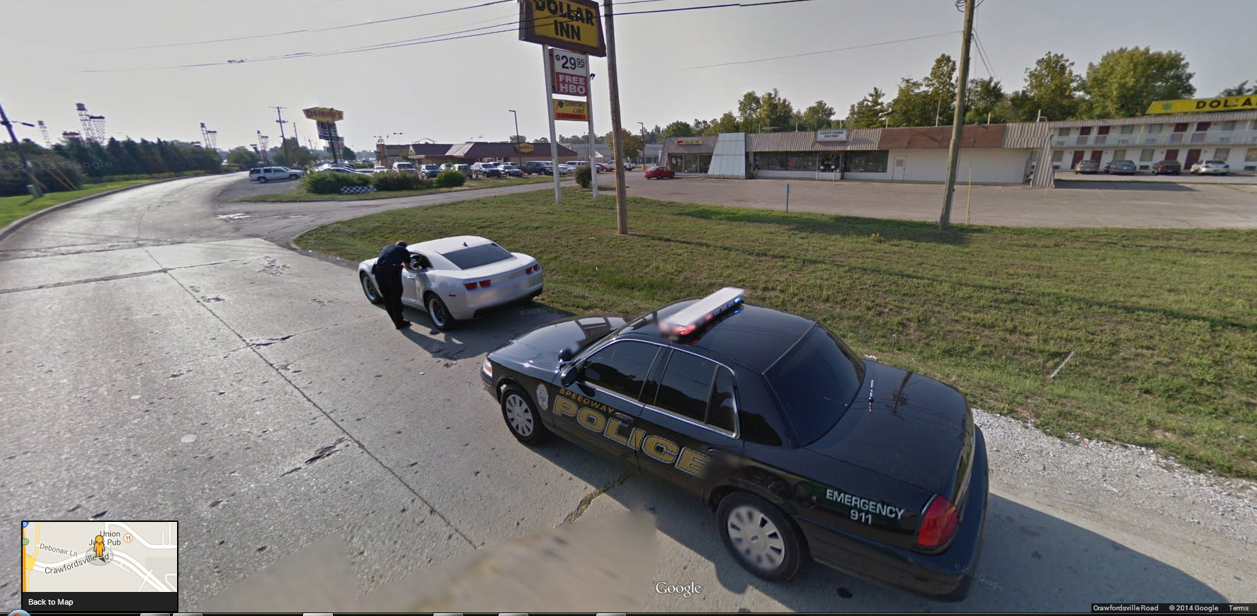Priceless – Getting a Speeding Ticket from the Speedway Police in Indianapolis