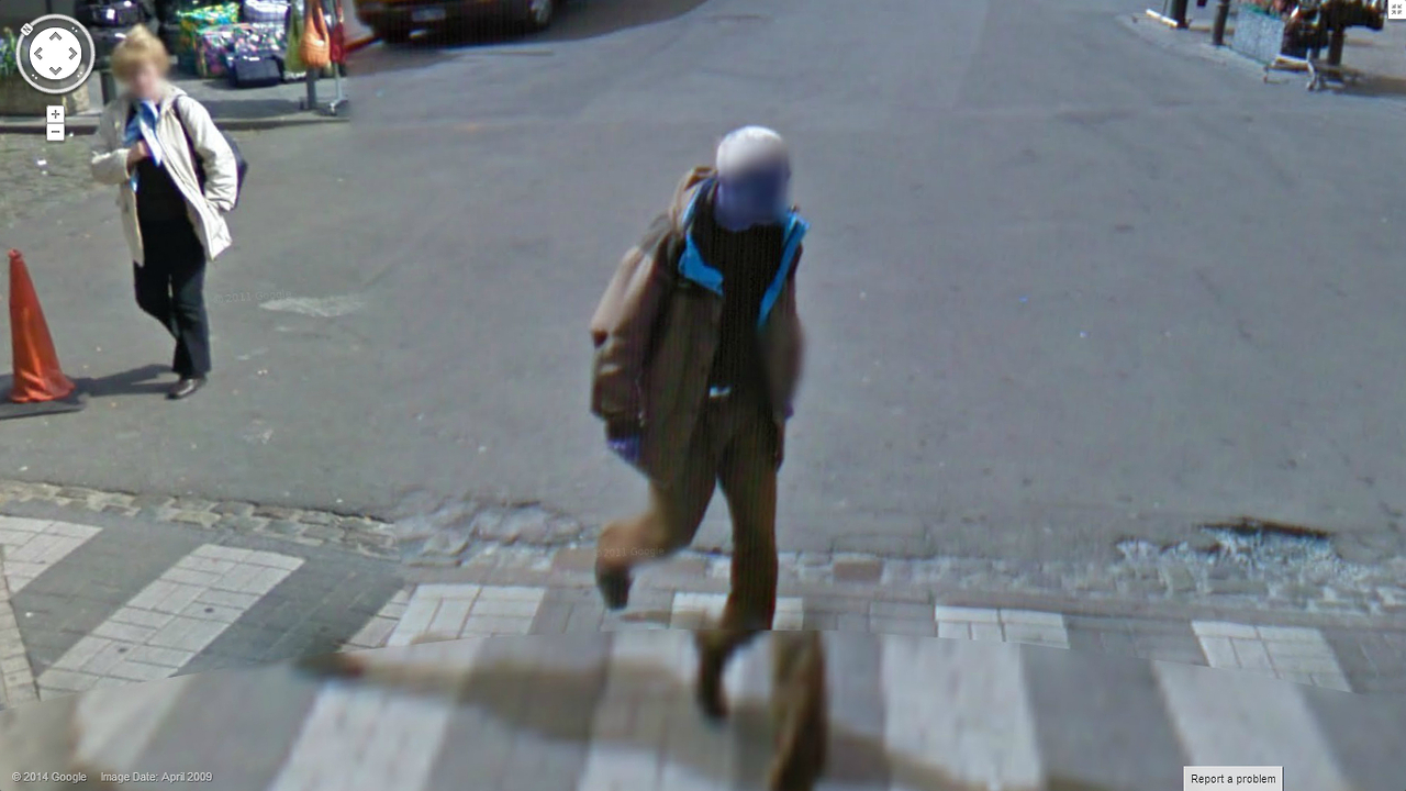aliens among us strange google street view
