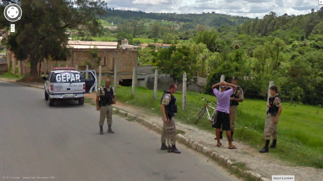 Busted On Google Street View Google Street View World