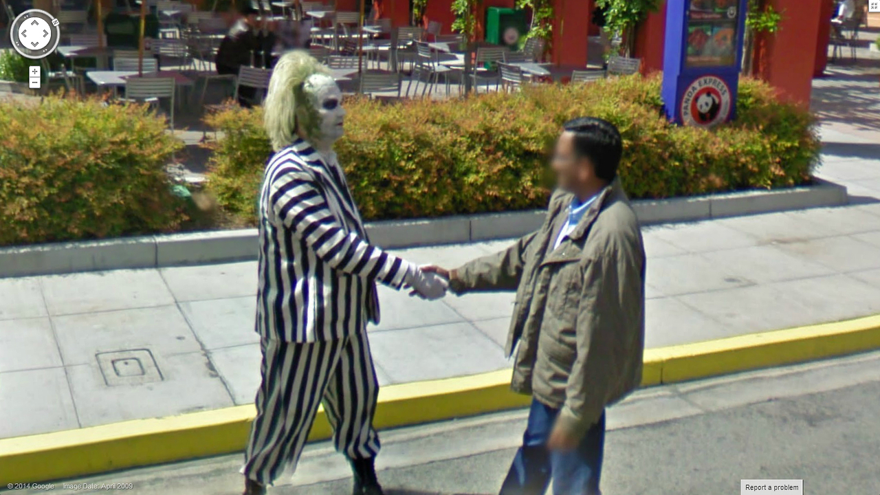 Well Hello there Mr BeetleJuice