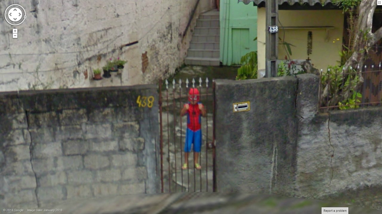 Spiderman in Jail