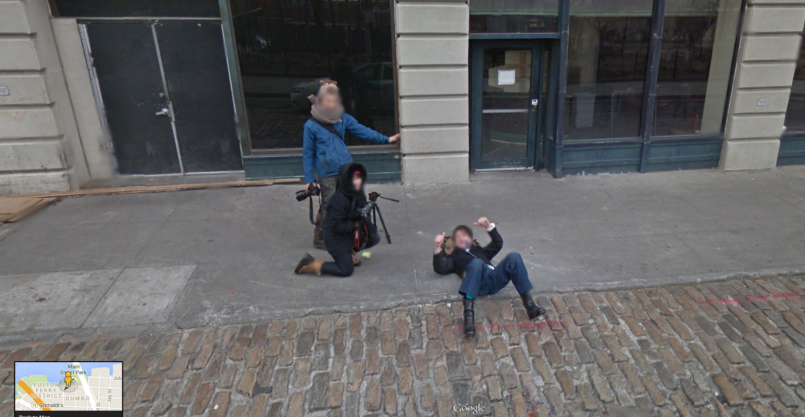 What are these guys taking a picture of?