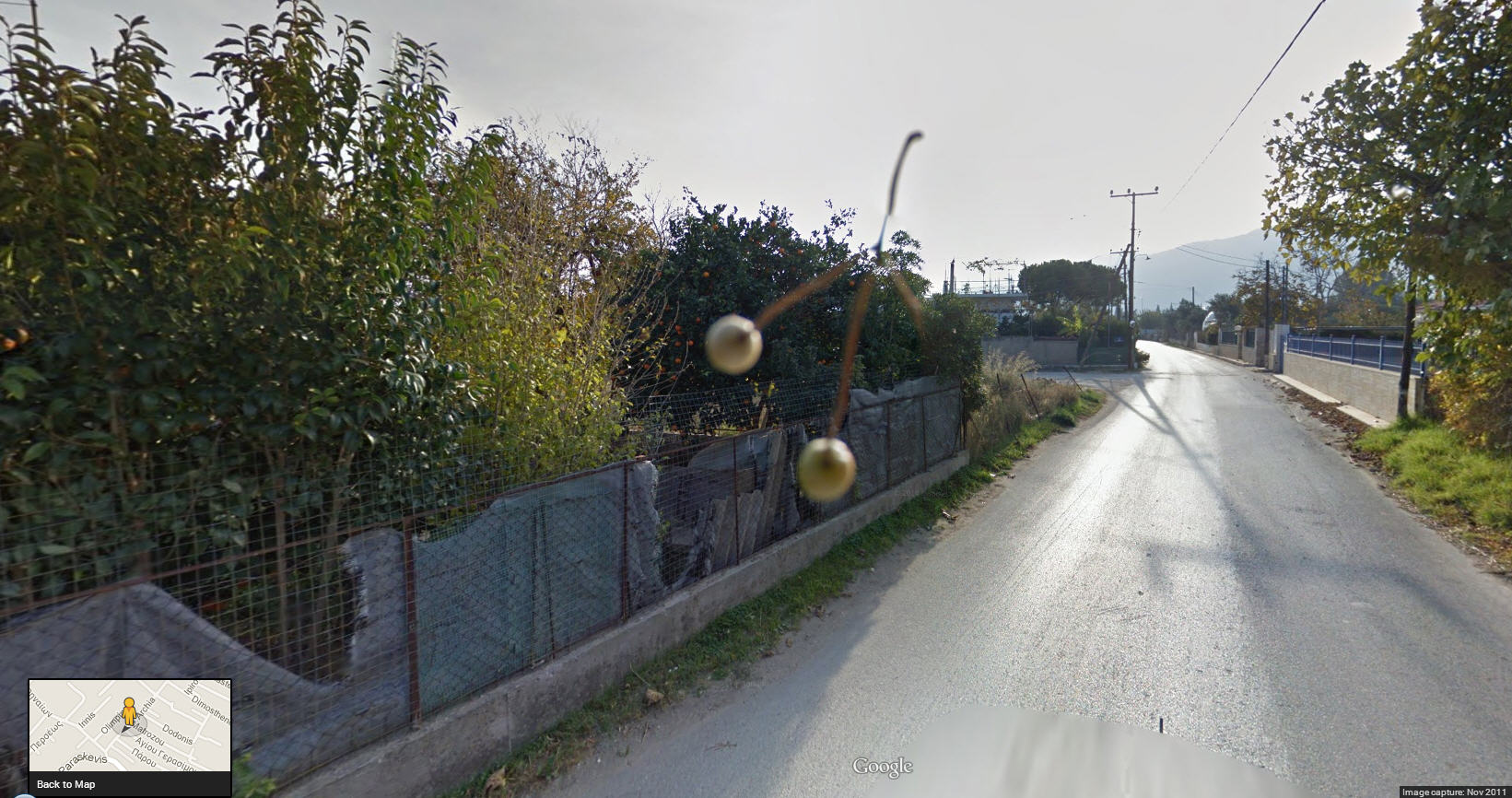Google Street View Greece Picks a Couple of Cherries