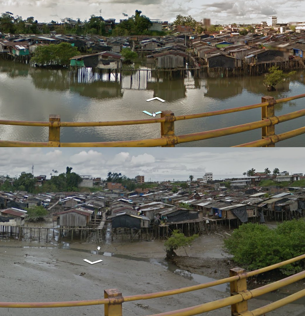 I can see why these Colombian Homes are on Stilts!