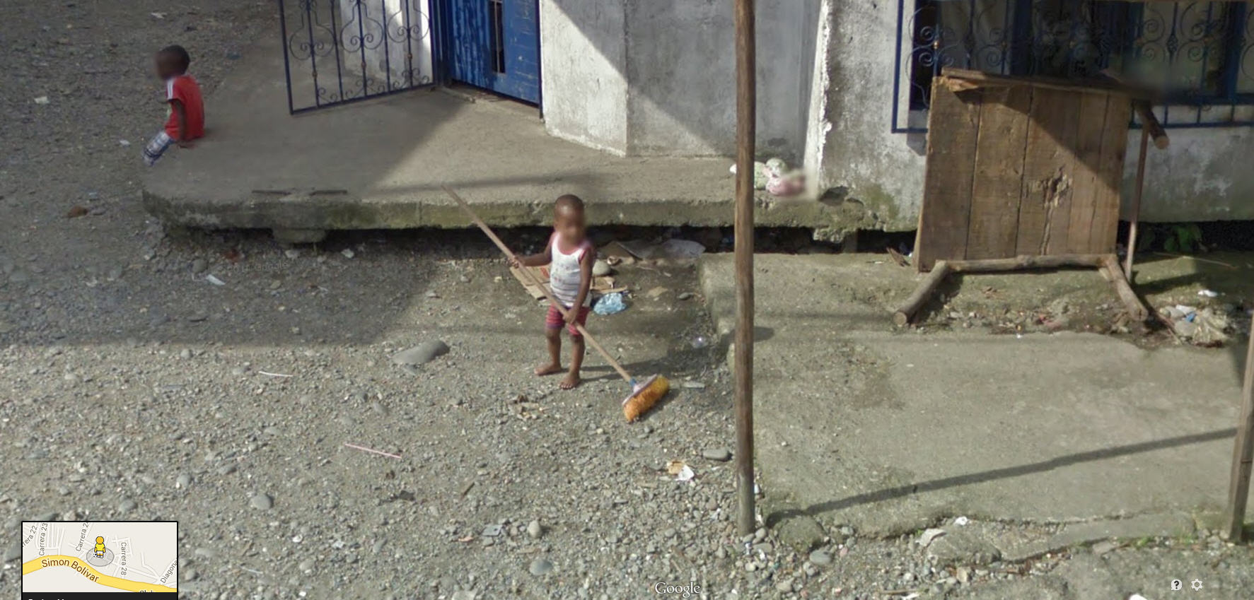 They start 'em young in Colombia