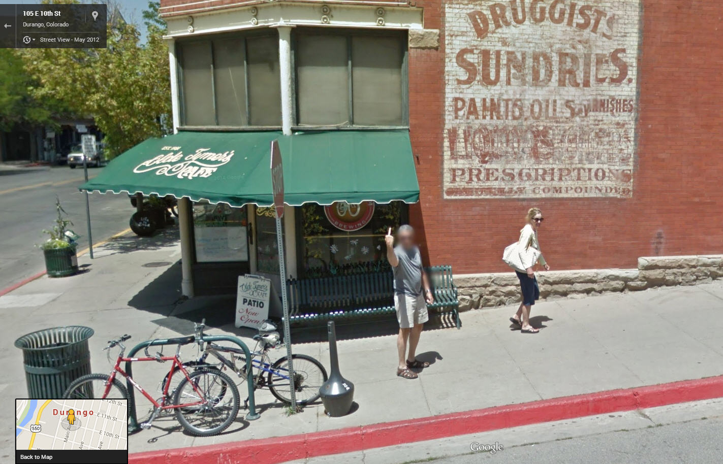 Another Happy Google Street View Customer