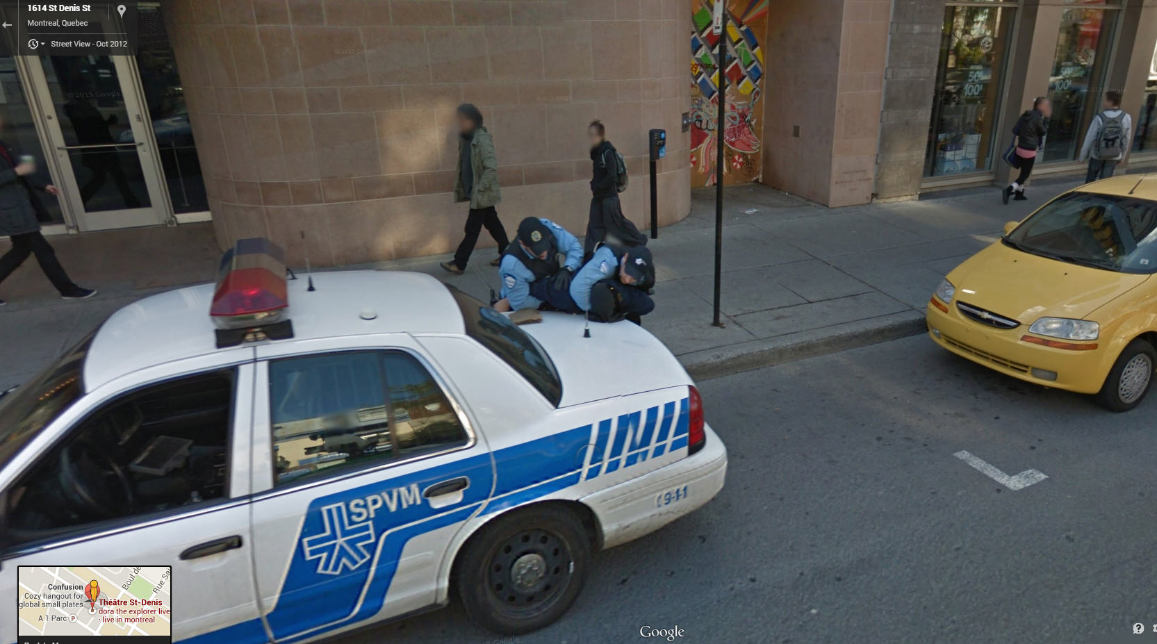 Canadian Cops Have Their Hands Full in Montreal