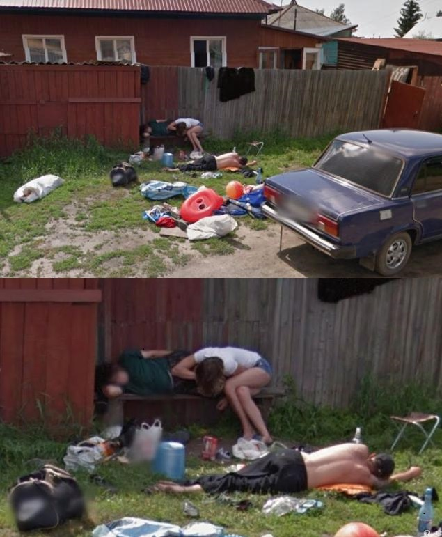 Looks like the aftermath of a Russian Party