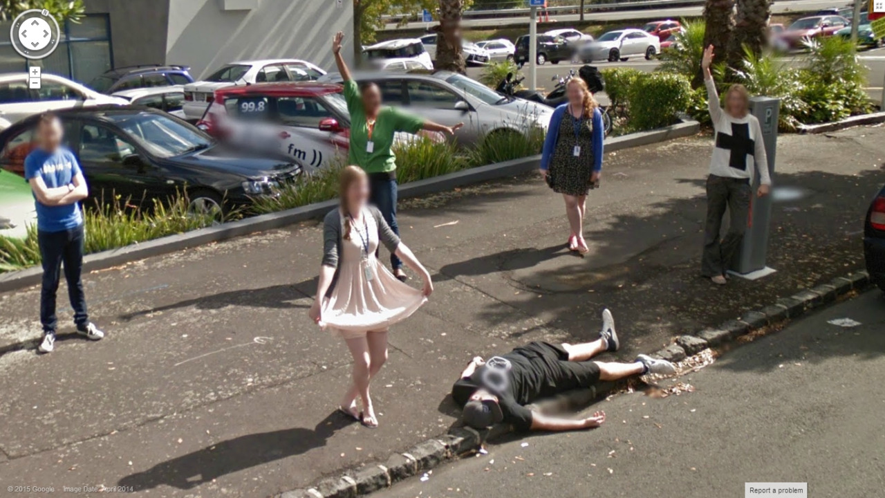 """Another """"What is going on Here"""" Street View Moment"""