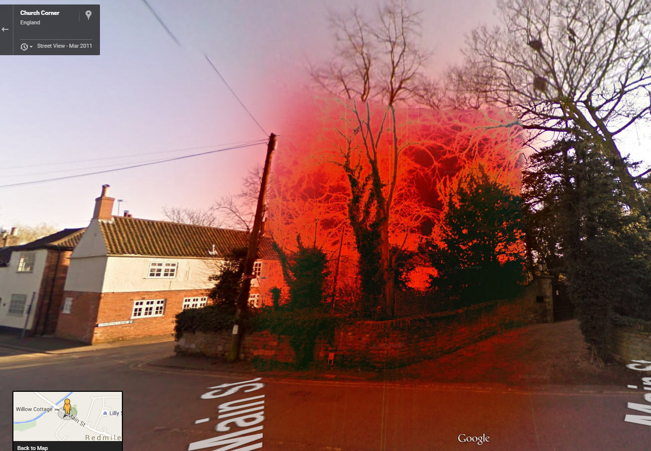 Google Street View User Accidentally Discovers The Red Zone