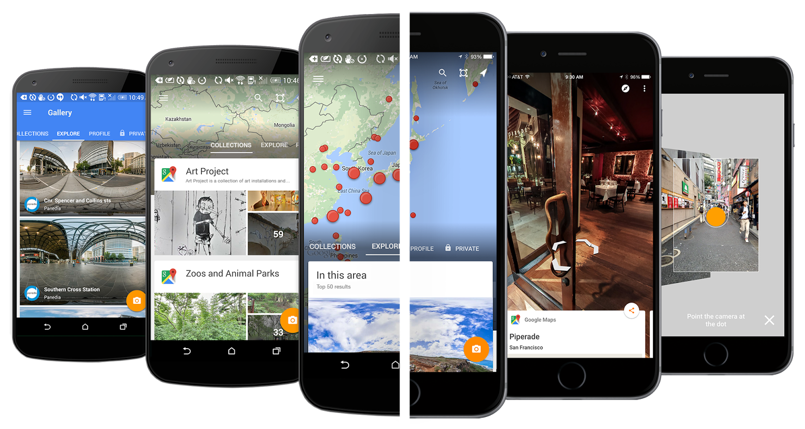 Introducing the new Street View app from Google Maps