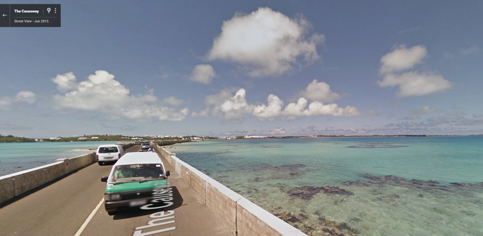 Bermuda now on Google Street View | Google Street View World | Funny ...