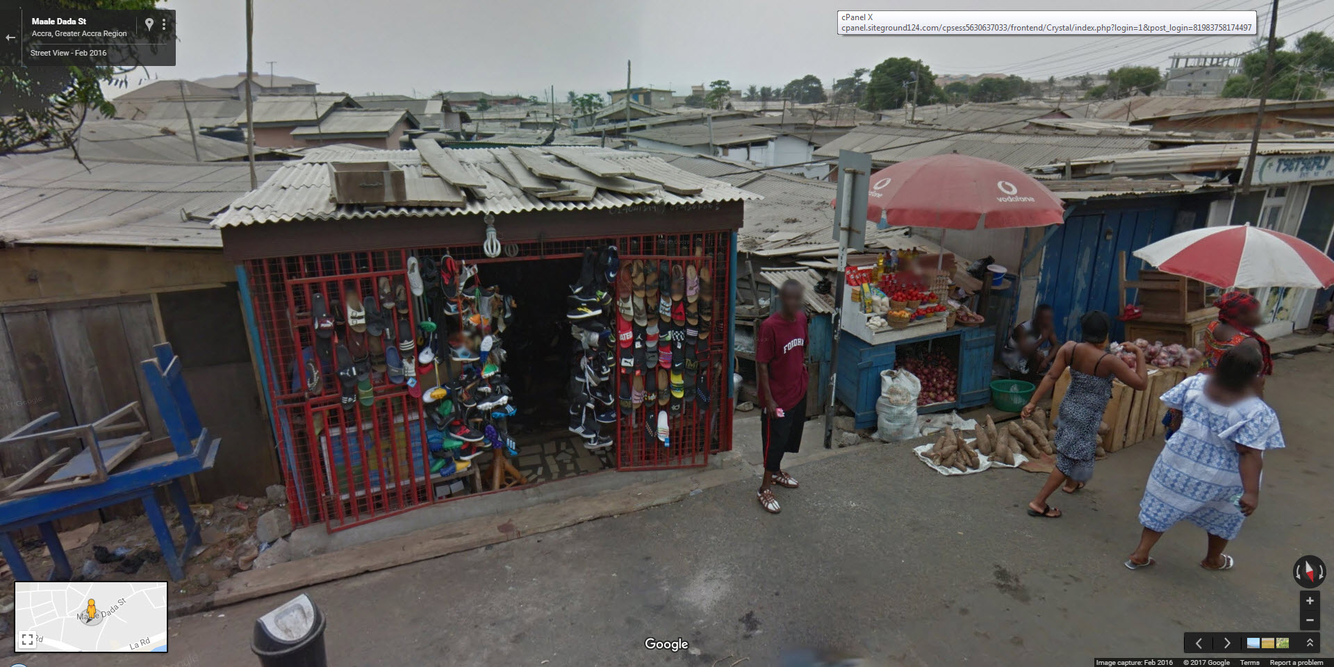 google street view ghana and senegal now live google. Black Bedroom Furniture Sets. Home Design Ideas