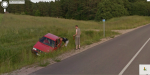 Drinking and Driving in Lithuania on Google Street View