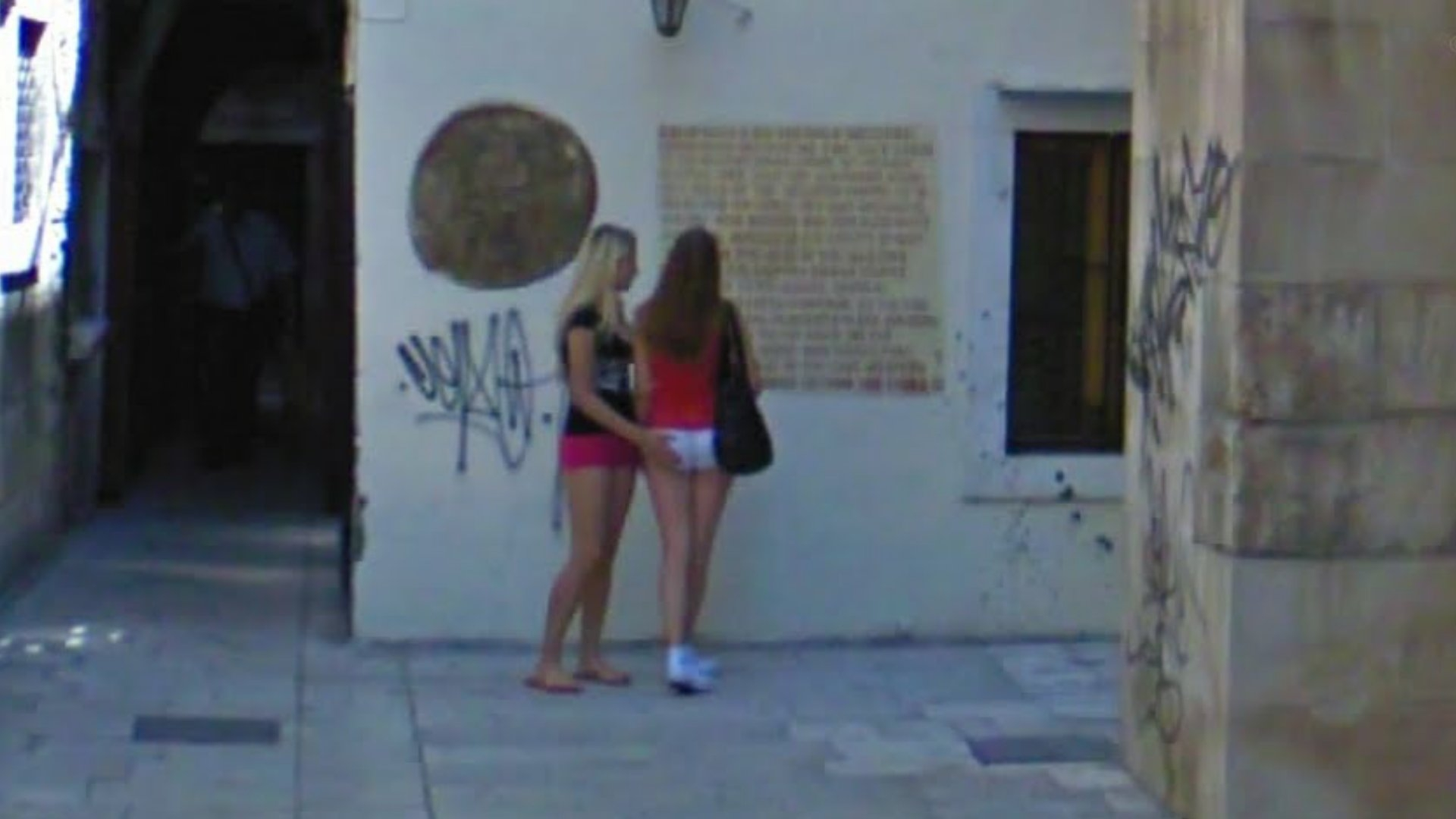 These two girls are good friends I take it?